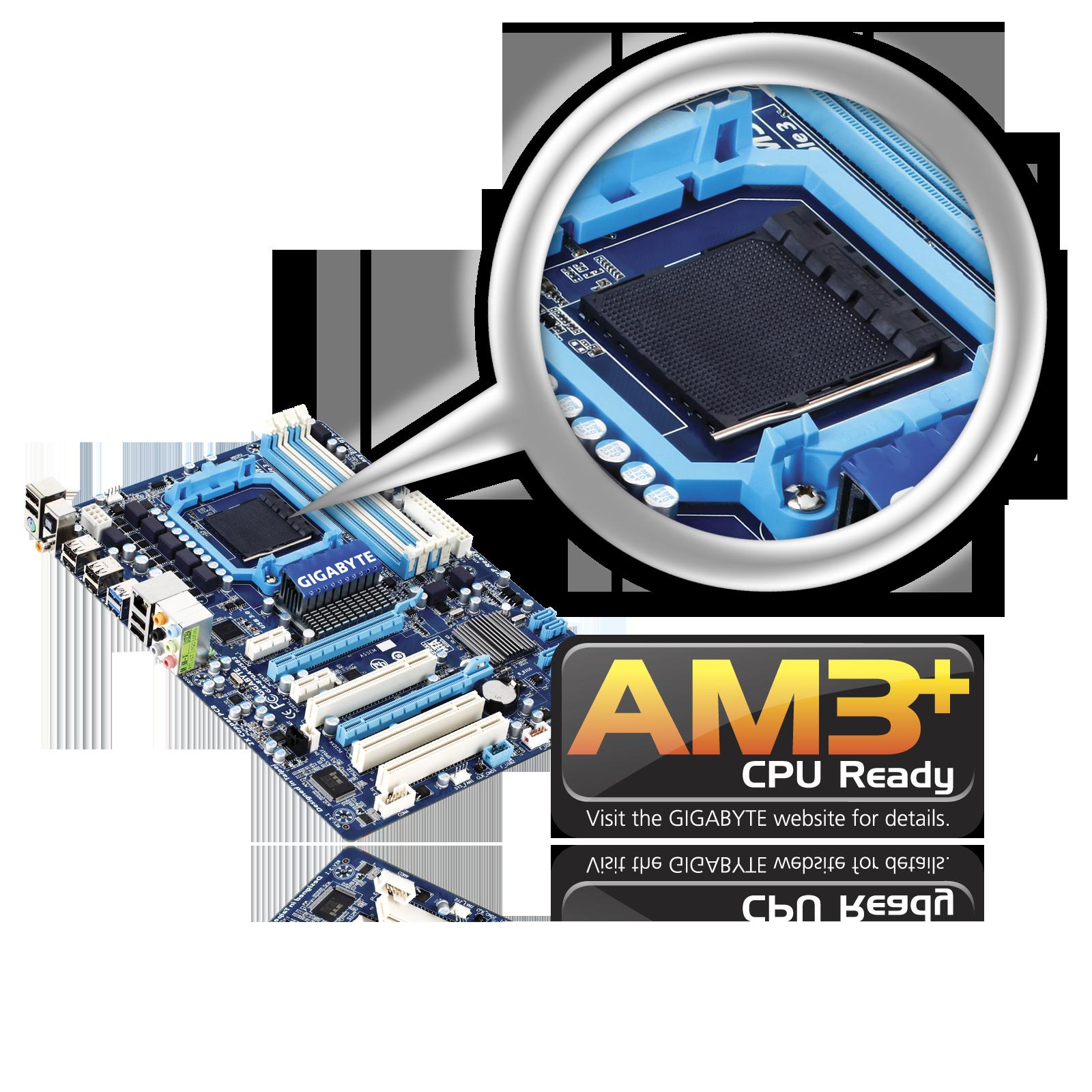 Gigabyte: 16 płyt głównych do procesorów AMD AM3+