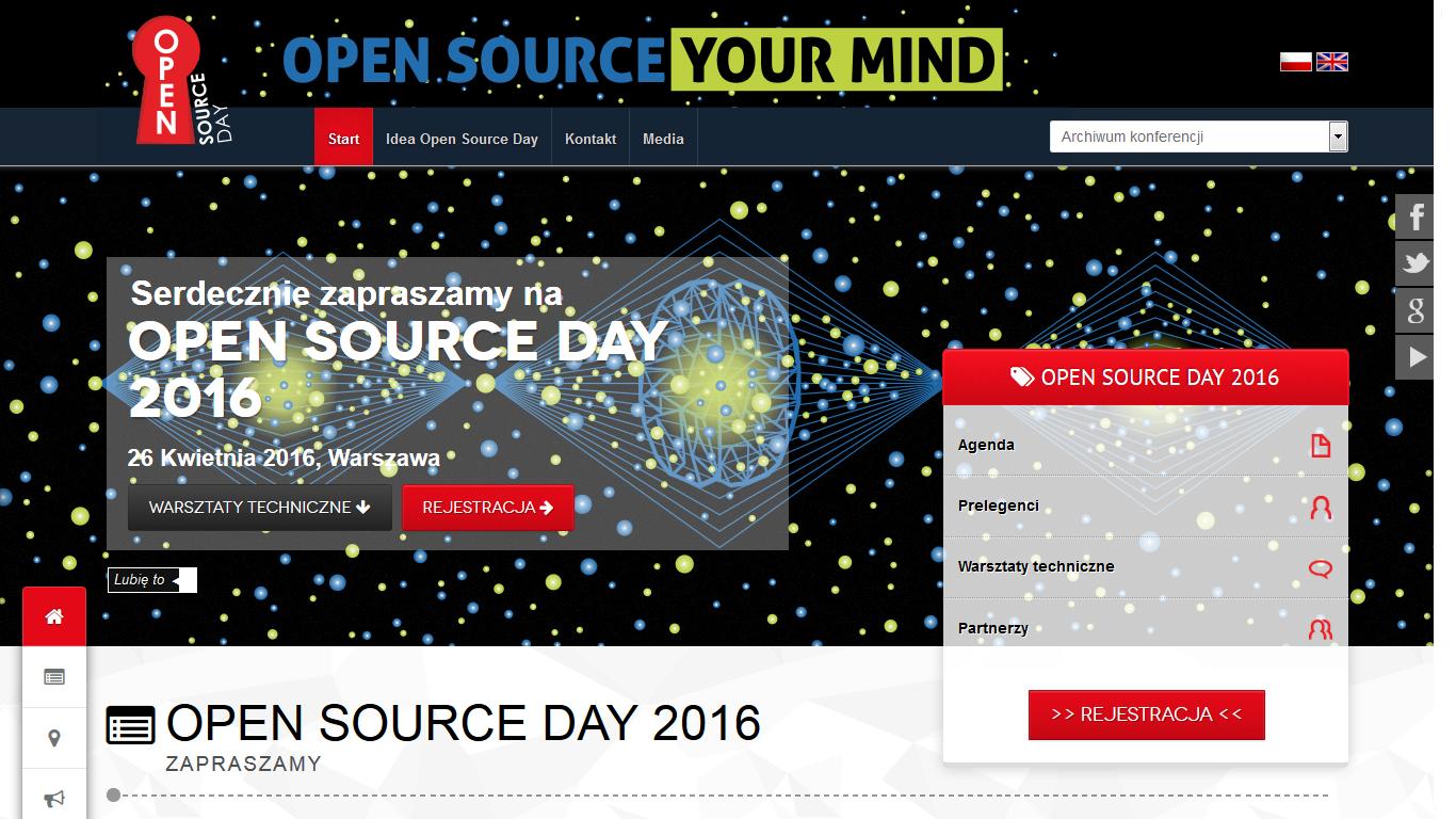 Open Source Day: przyszłość jest otwarta