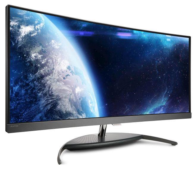 Philips: pierwszy zakrzywiony monitor