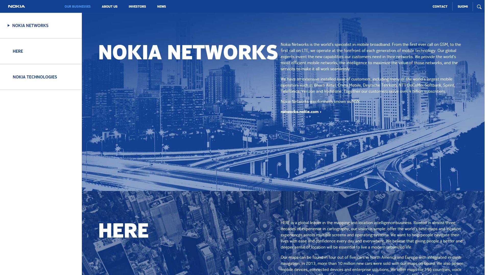 Nokia może przejąć Alcatela