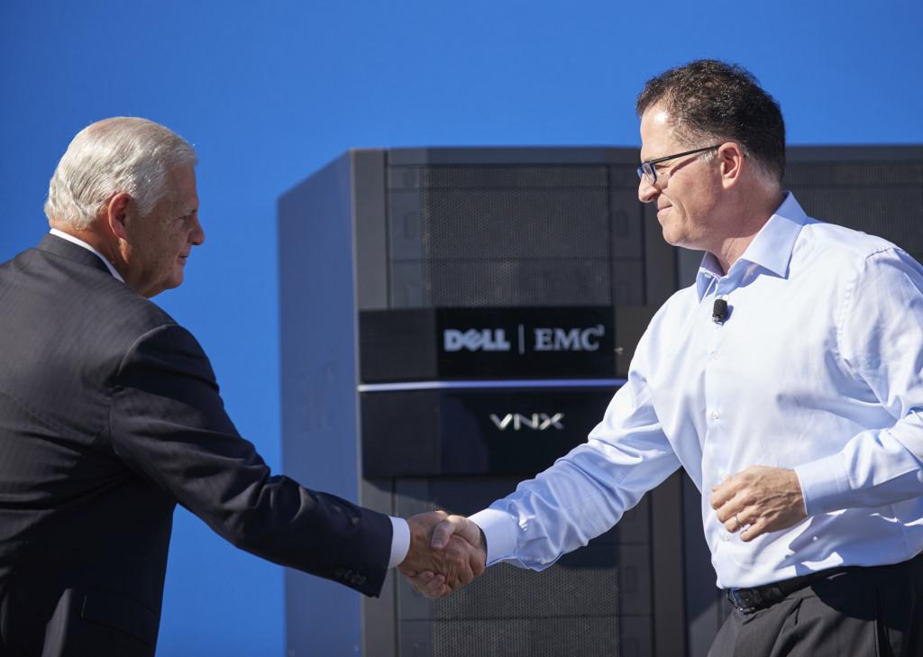 Chińczycy zgodzili się na przejęcie EMC przez Della