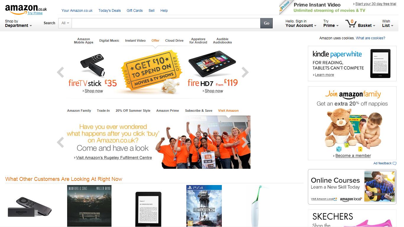 Komisja Europejska nie odpuści Amazonowi
