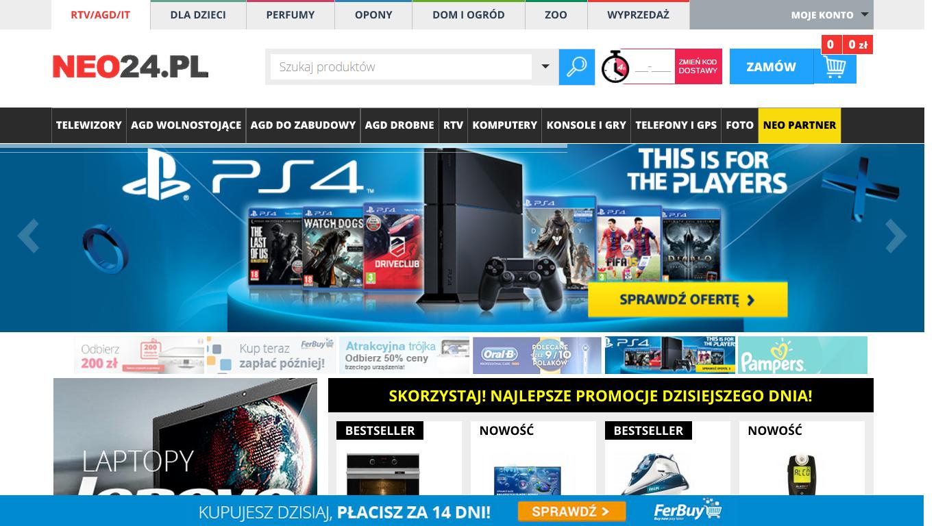 Neo24.pl wprowadził odroczoną płatność