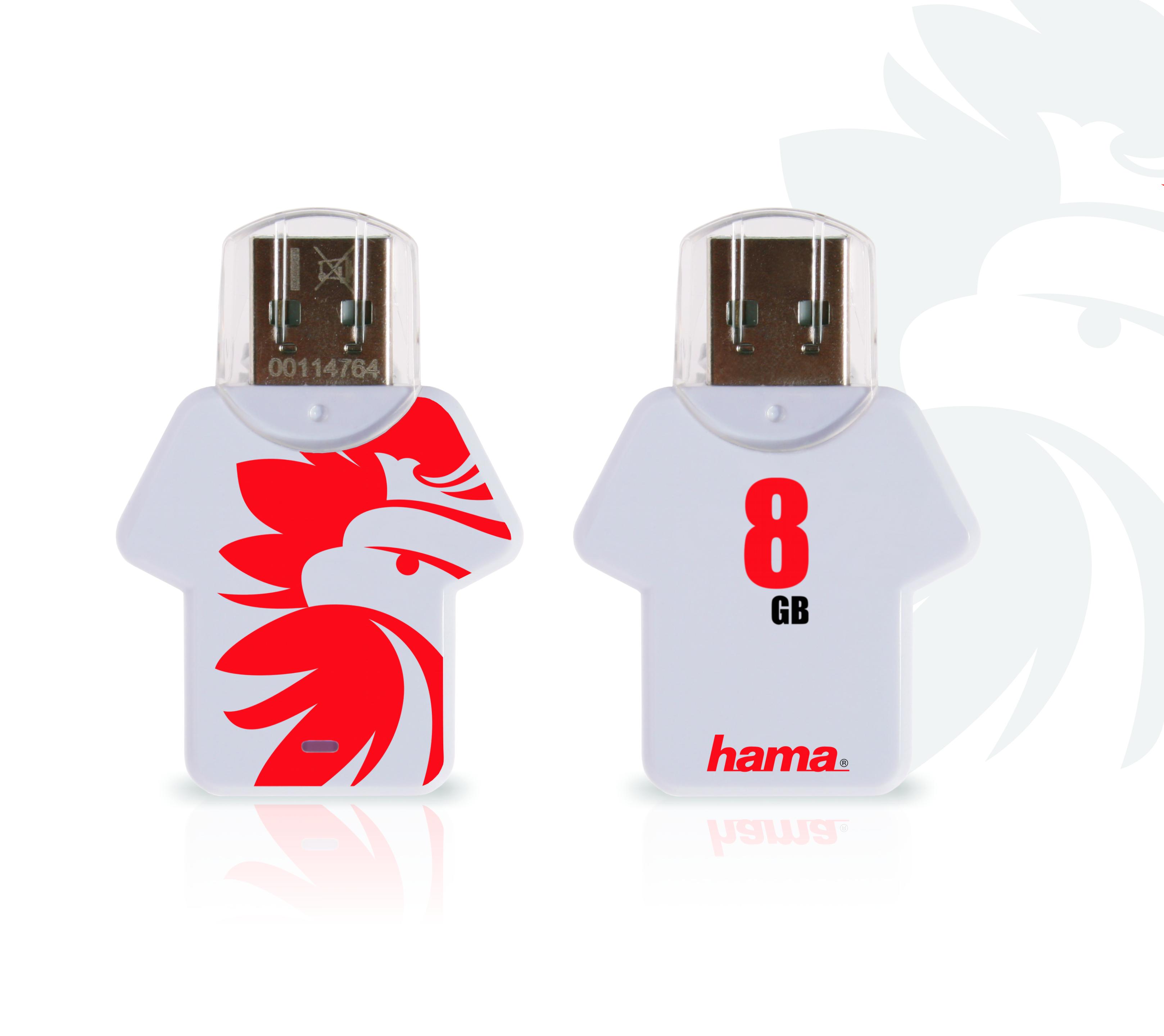 Hama: pamięci w piłkarskich koszulkach