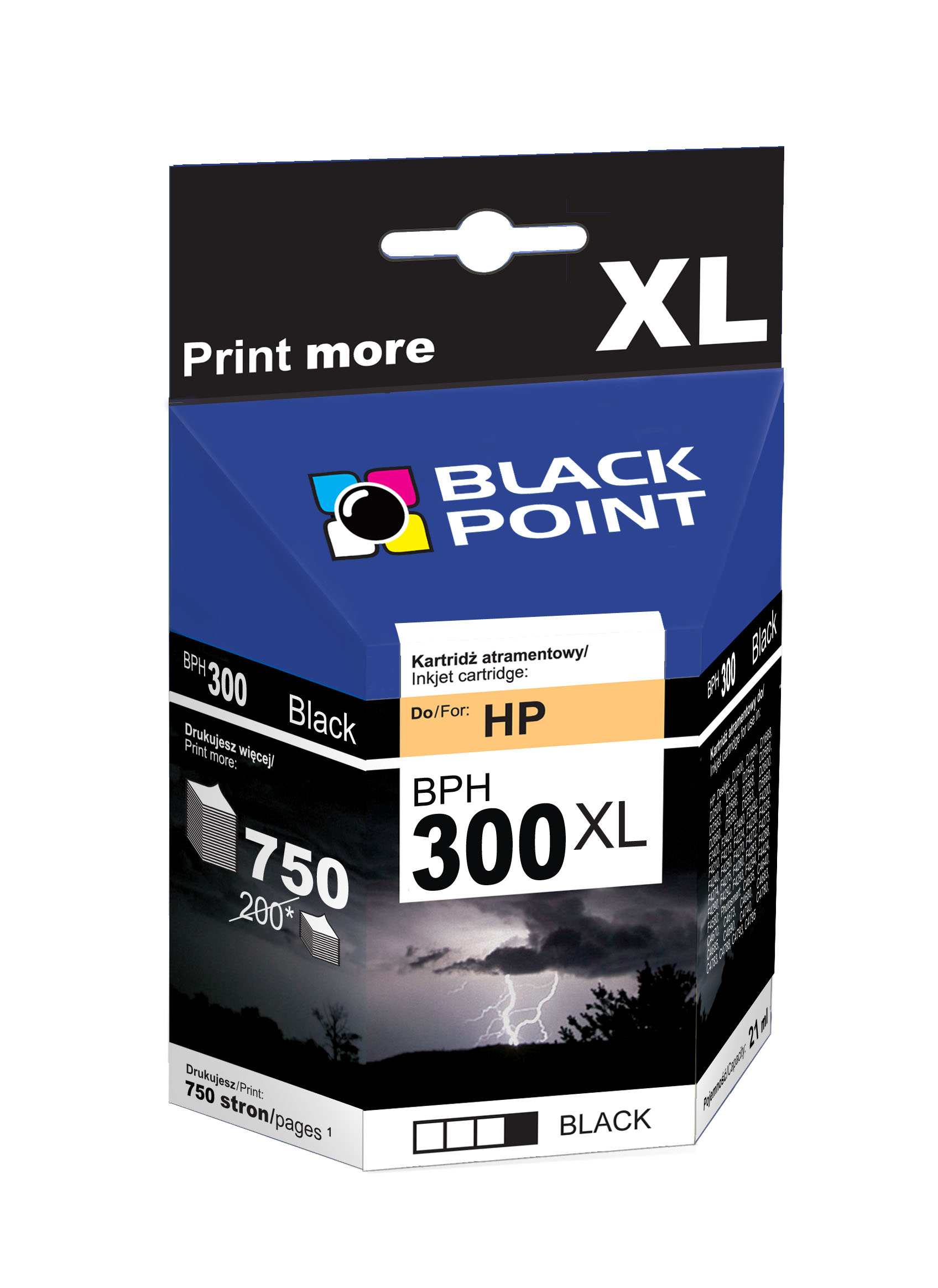 Black Point: tusz XL do HP