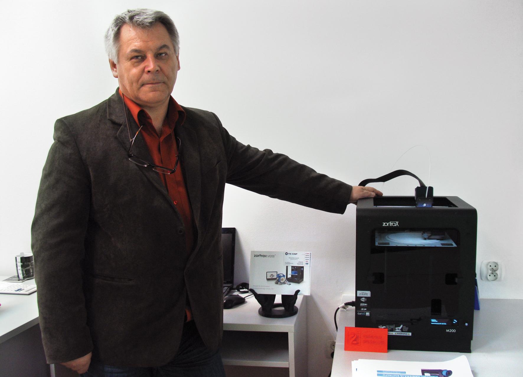 Segment druku 3D to nie przepychanie pudełek