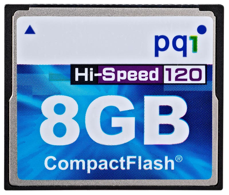 PQI CF 8GB Hi-Speed 120x AC80-8030R01F8