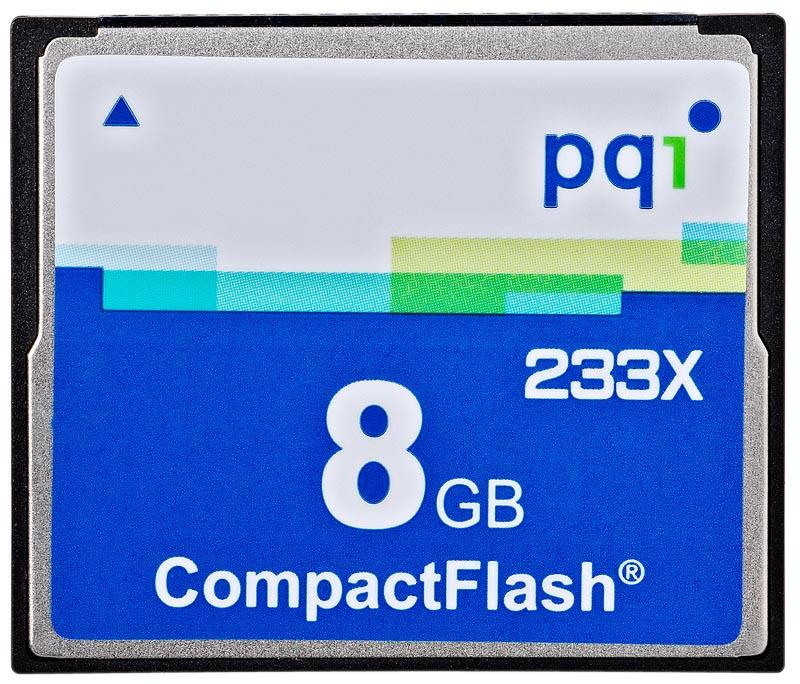 PQI CF 8GB 6ACI-008GPR02B 233x