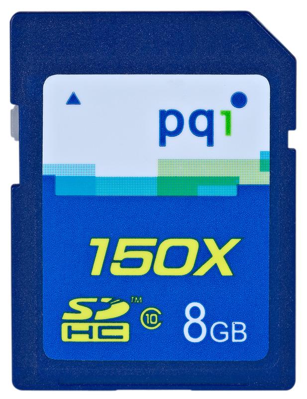 PQI SDHC 8GB 150x class 10
