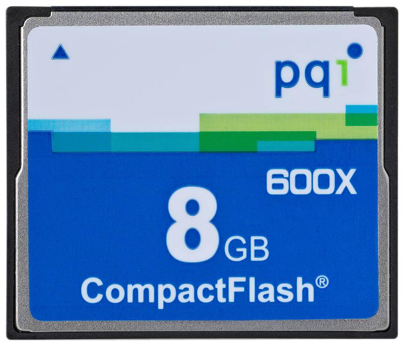 PQI CF 8GB 6ACJ-008GPR02B 600x