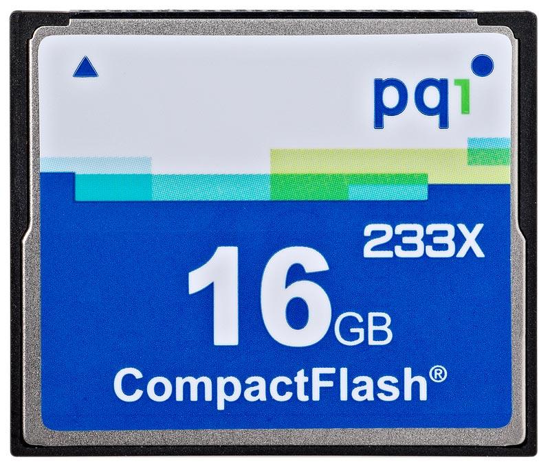 PQI CF 16GB 6ACI-016GPR02B 233x
