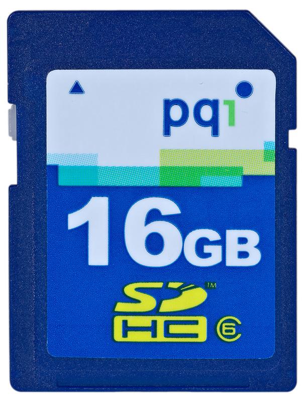 PQI SDHC 16 GB class 6