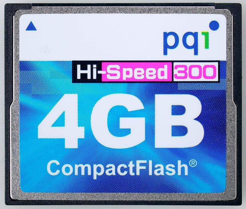 PQI Compact Flash 4GB Hi-Speed x300