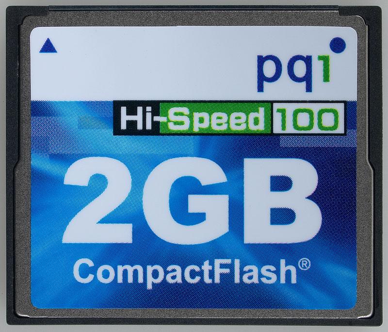 PQI CF 2 GB Hi-Speed 100