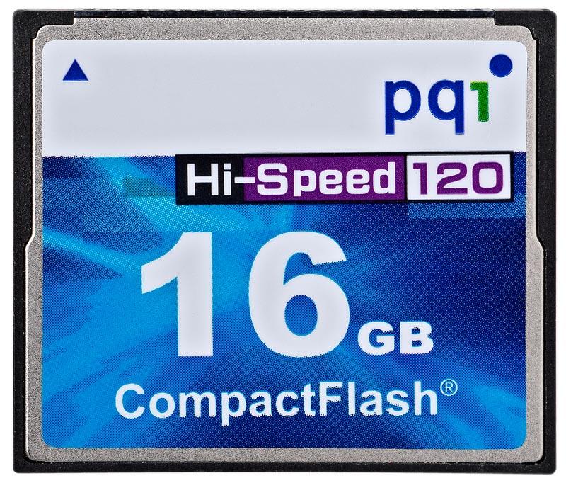 PQI CF 16GB Hi-Speed AC80-1630R01F7 120x