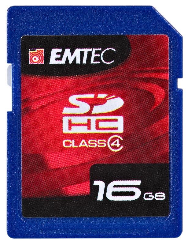 EMTEC SDHC 16GB 60x  class 4