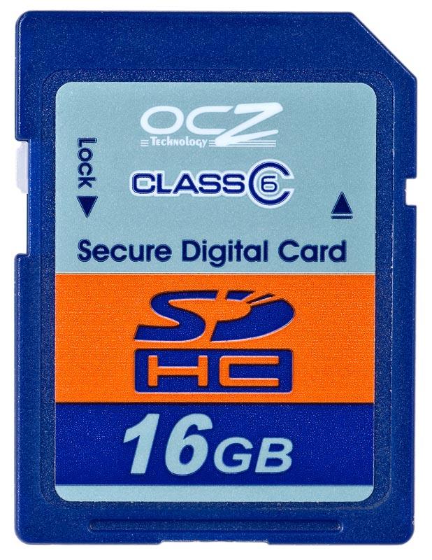 OCZ SDHC 16GB  class 6