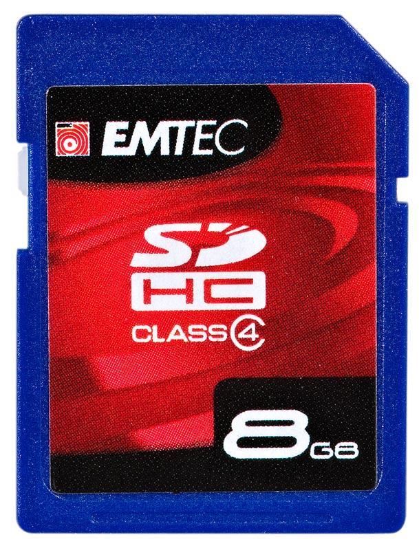 EMTEC SDHC 8GB 60x class 4