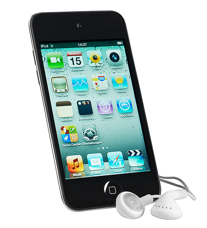 Apple iPod Touch 4G (iOS5) MD058FD/A