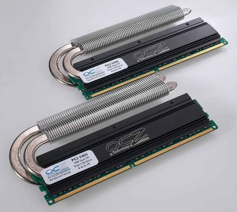 OCZ ReaperX HPC DDR2 2x2GB 800MHz CL4-4-3-15
