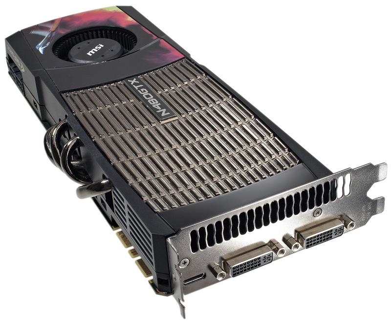 MSI N480GTX 1536MB GDDR5