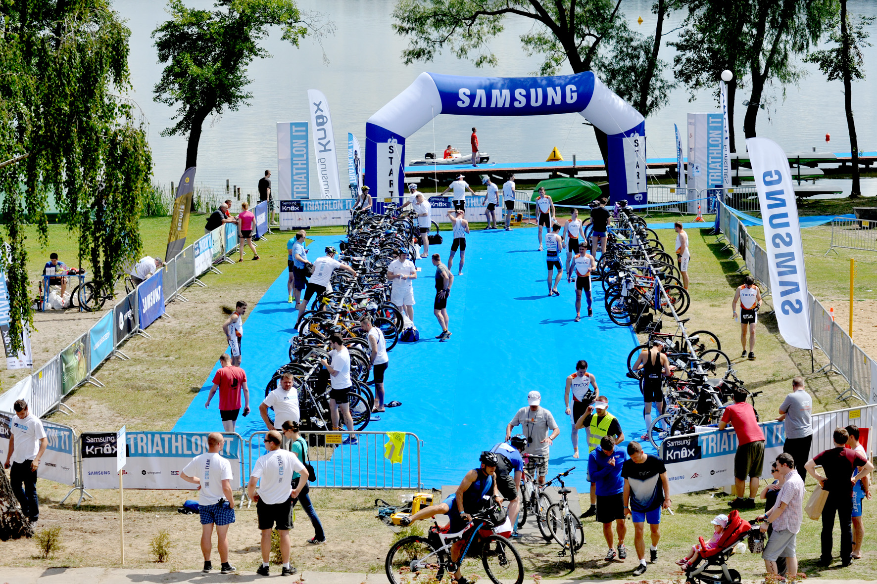 Samsung Knox Triathlon IT 2014
