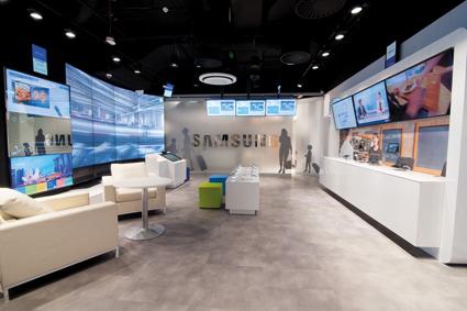Samsung: jedyny taki showroom