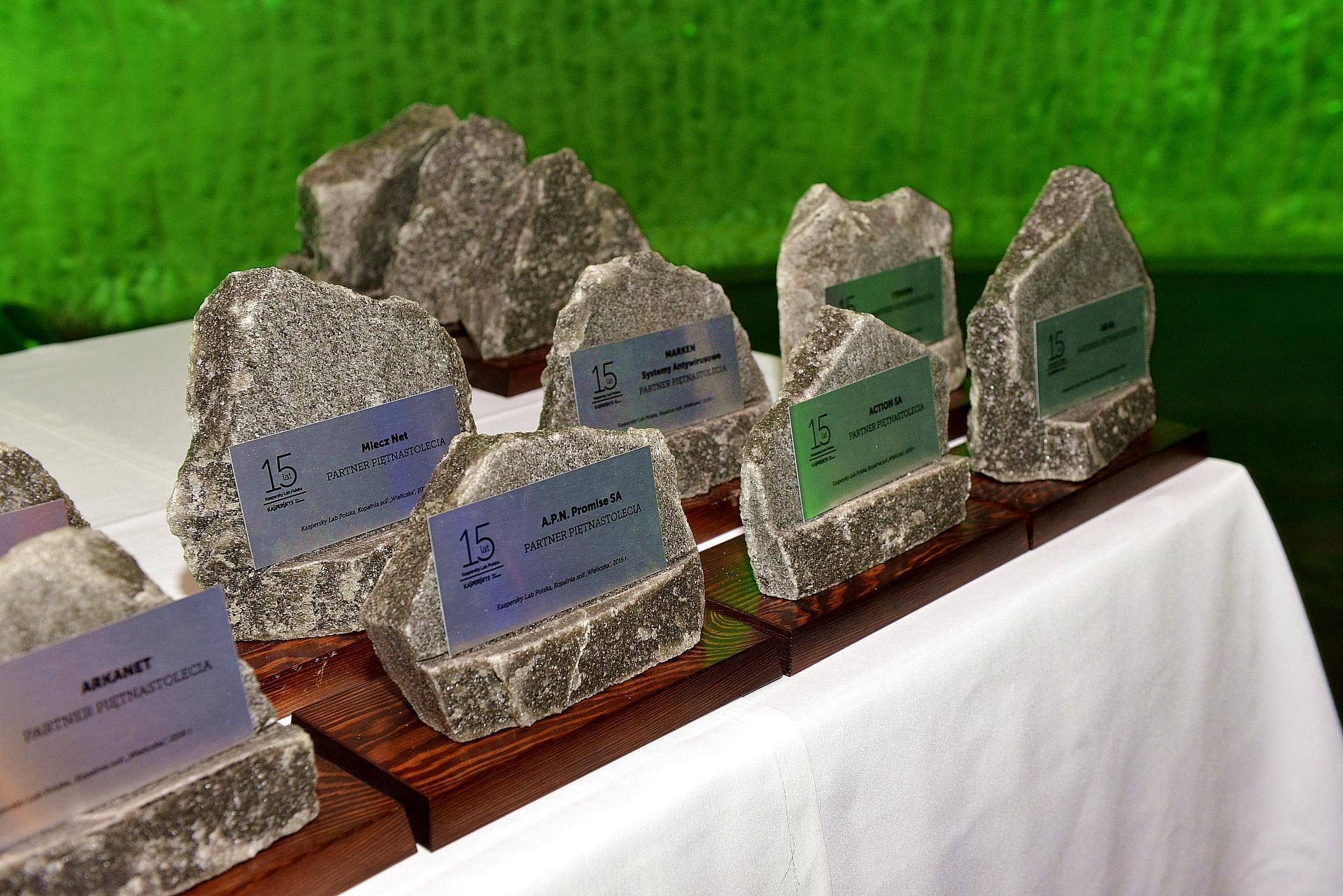 Kaspersky Lab Polska: nagrody dla partnerów z okazji jubileuszu