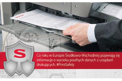 Czy drukowane w firmie dokumenty są bezpieczne?