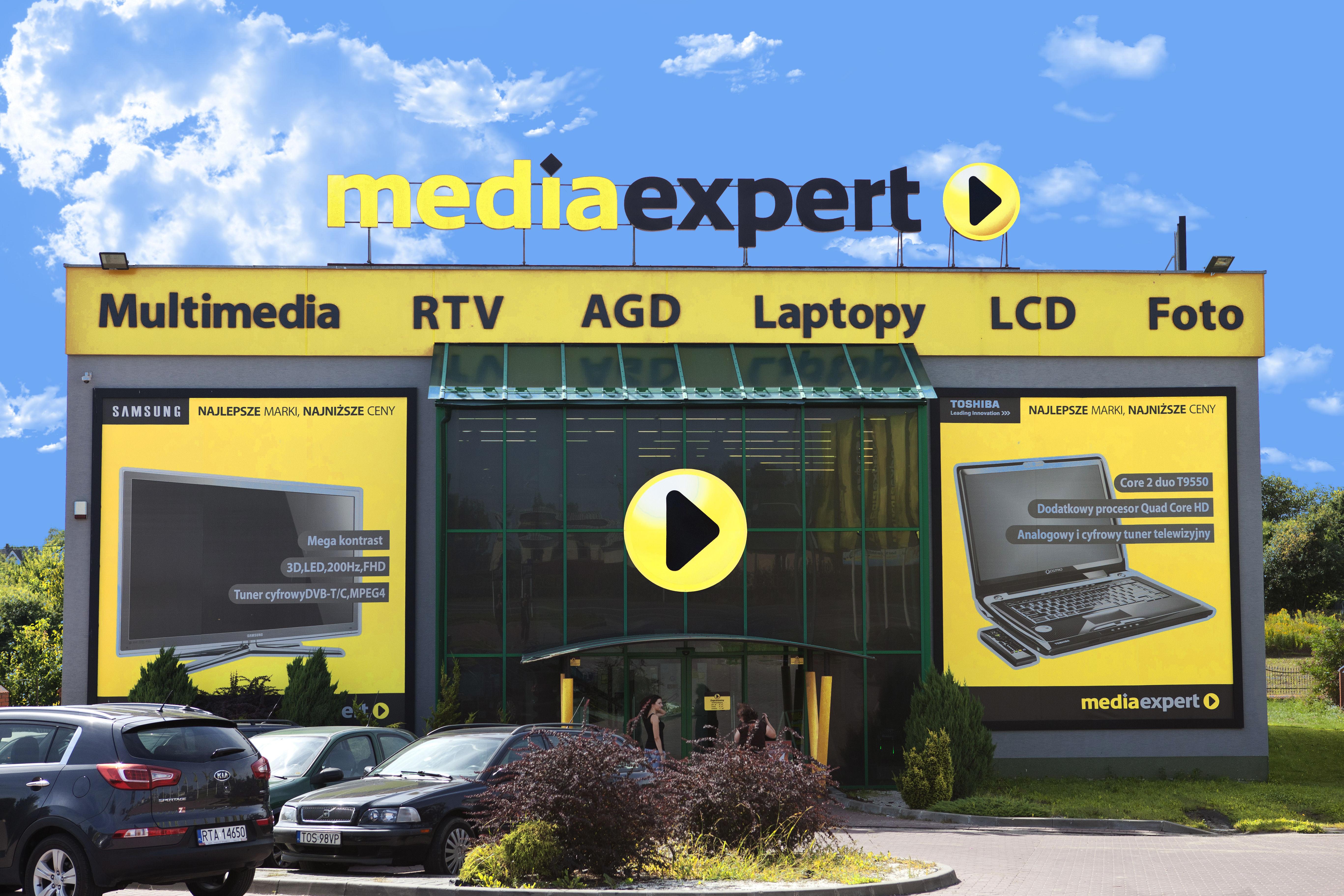 Przejęcie w sieci Media Expert