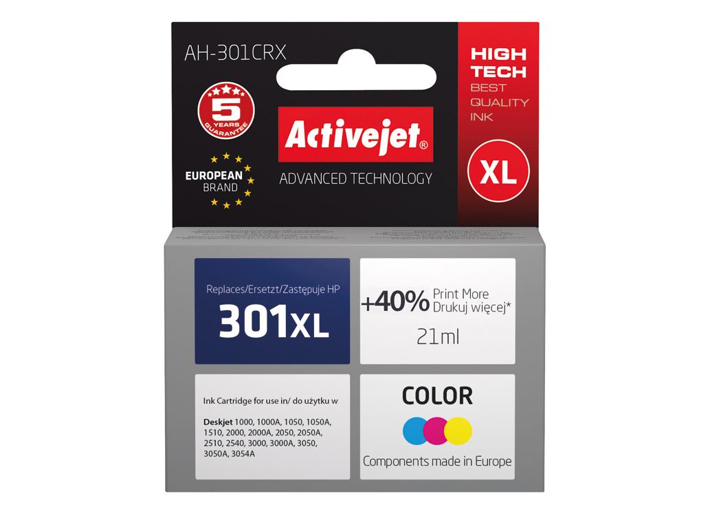 Activejet: druk w jakości oryginału