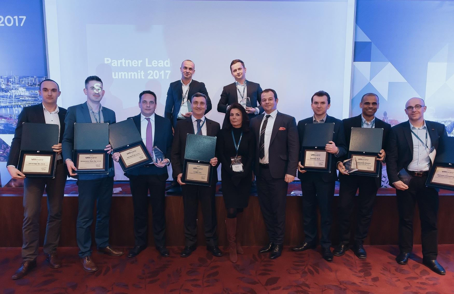VMware nagrodził  najlepszych partnerów