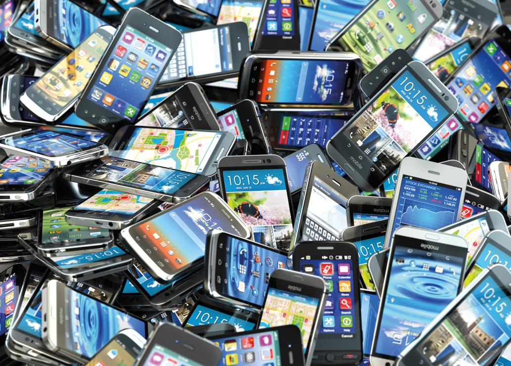 Smartfony u broadlinerów: retail górą
