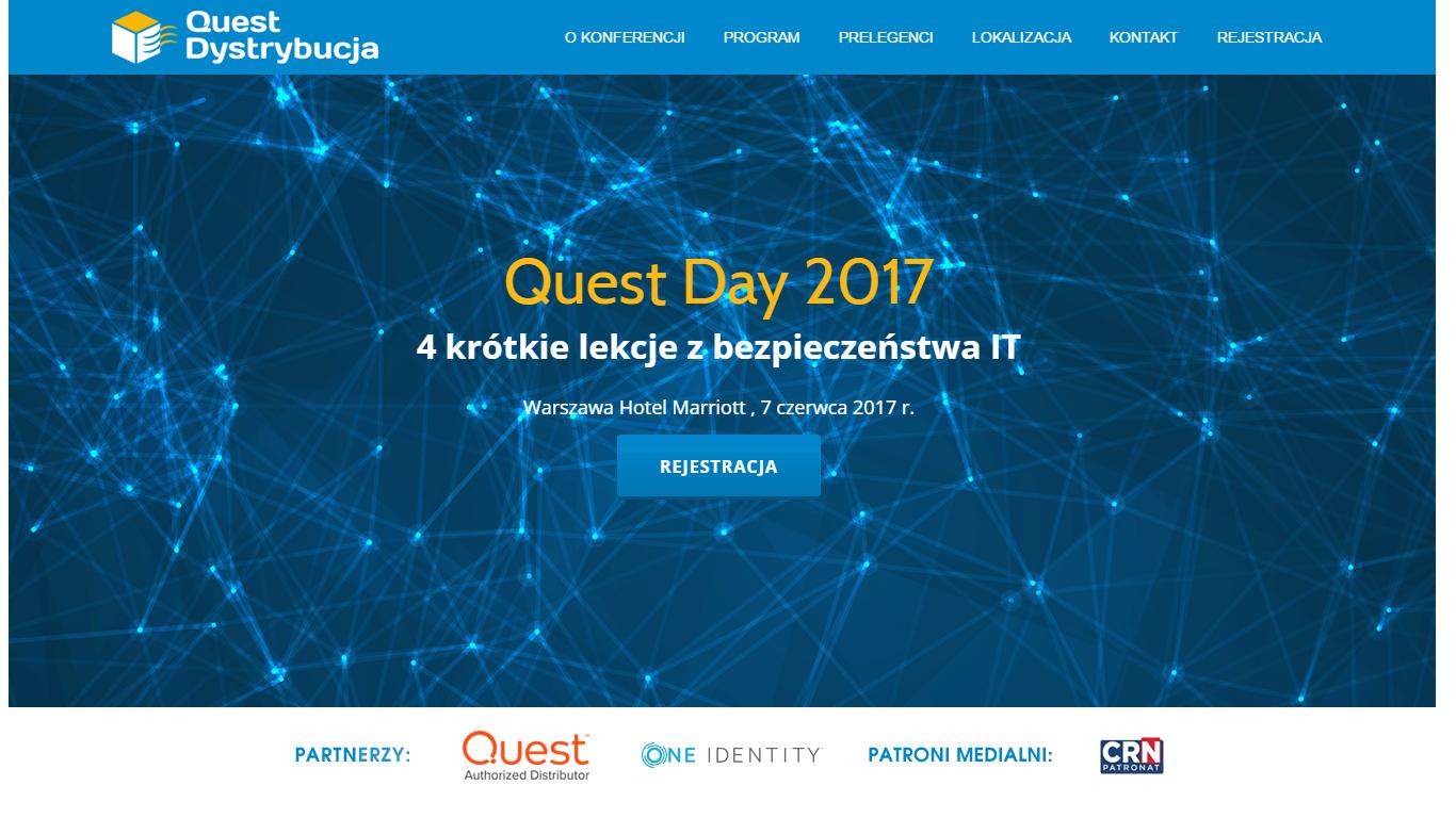 Quest Day 2017: 4 lekcje