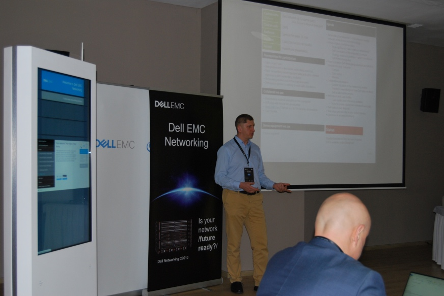 Dell EMC idzie na wojnę…  z sieciowymi gigantami