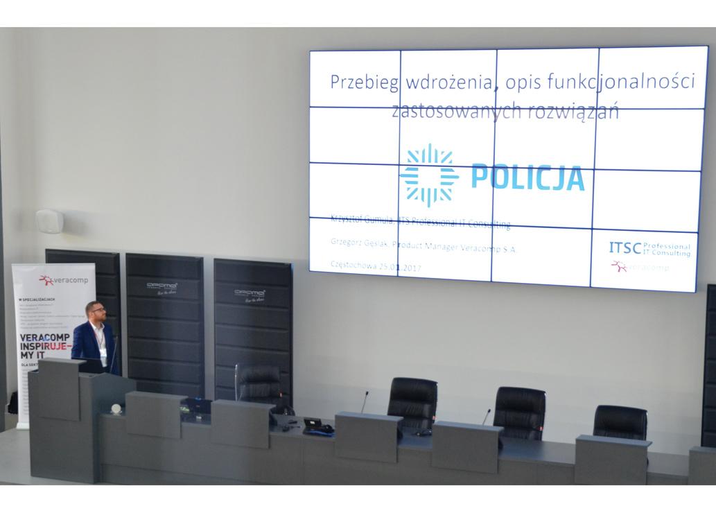 Technologia przyszłości w służbie częstochowskiej policji