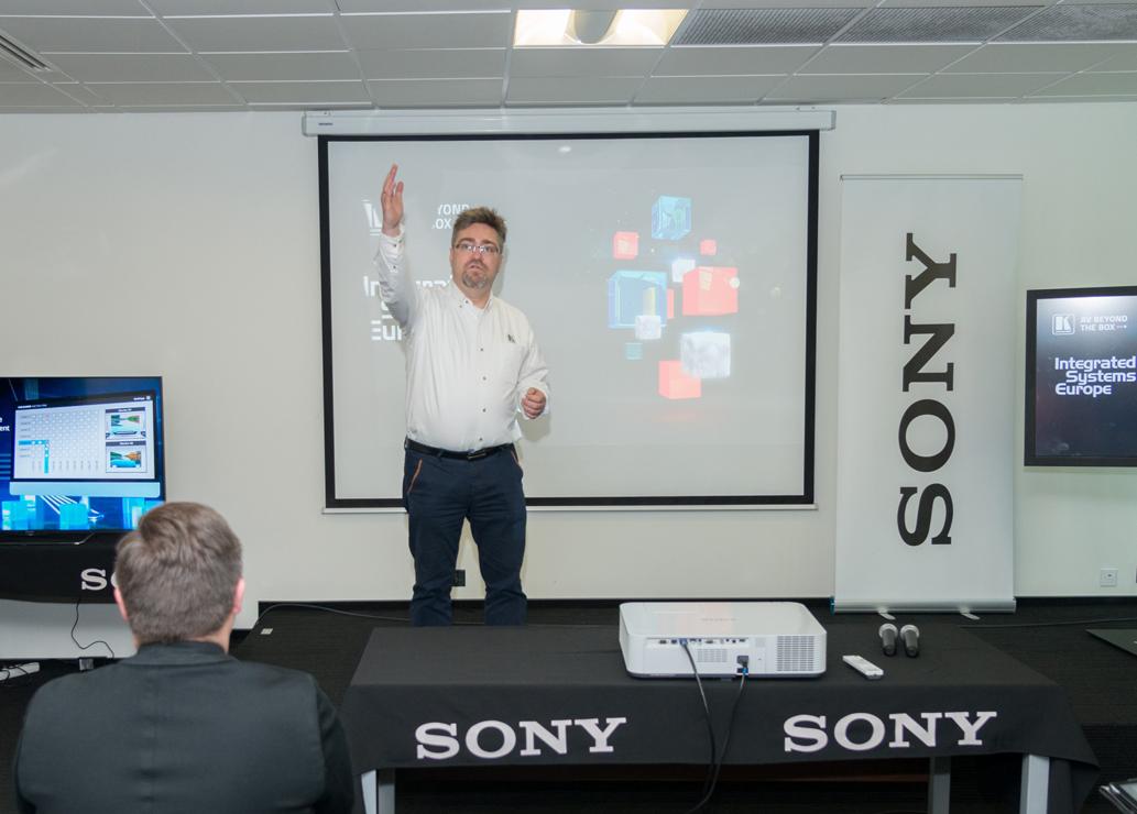 Roadshow Kramer Electronics i Sony Professional
