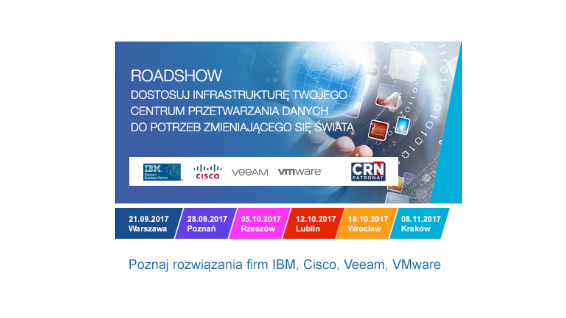 Tech Data: roadshow o centrach danych
