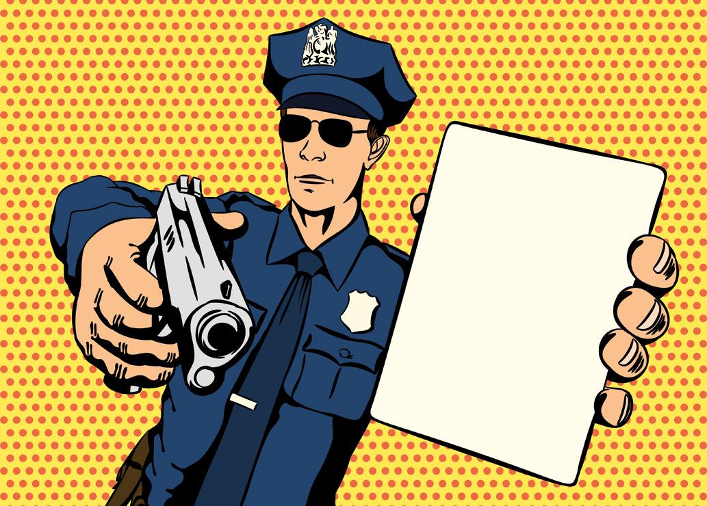 Policjant i strażak XXI wieku: widzi, słyszy, mierzy