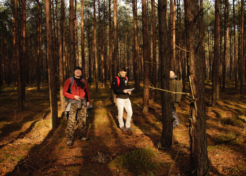 IT Club na leśnych ścieżkach