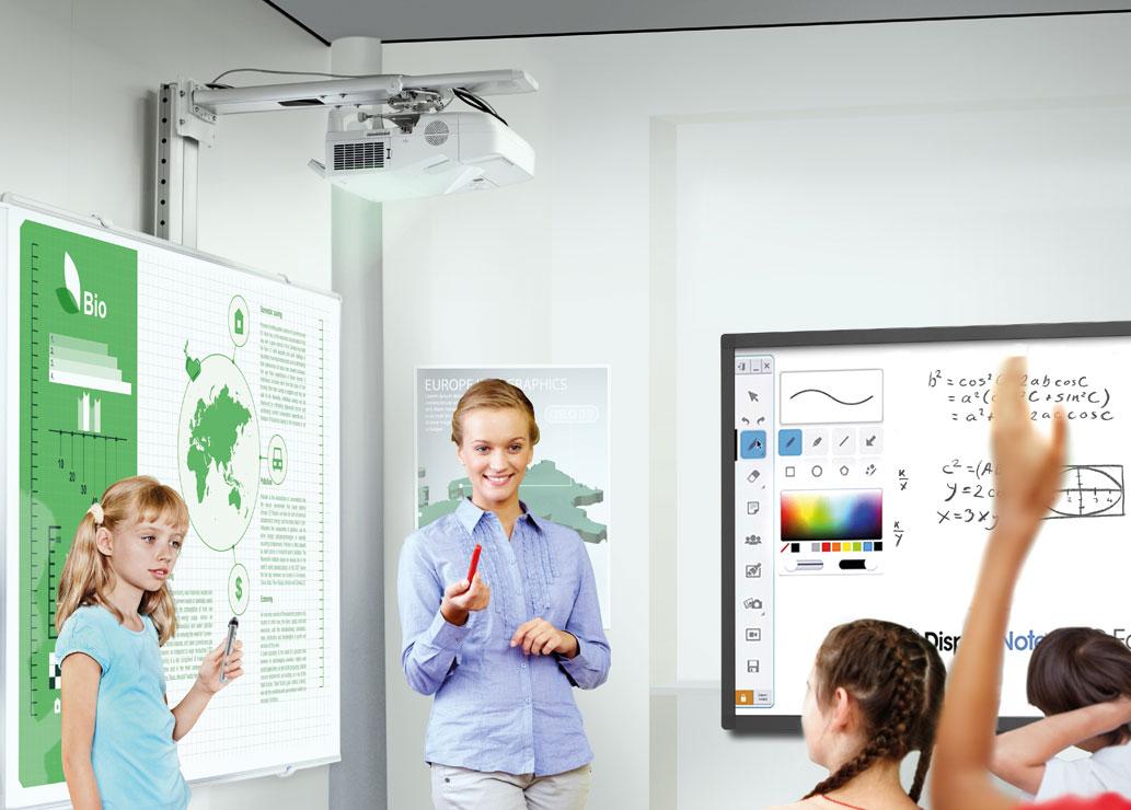 Projektory i monitory NEC sprawdzone w edukacji