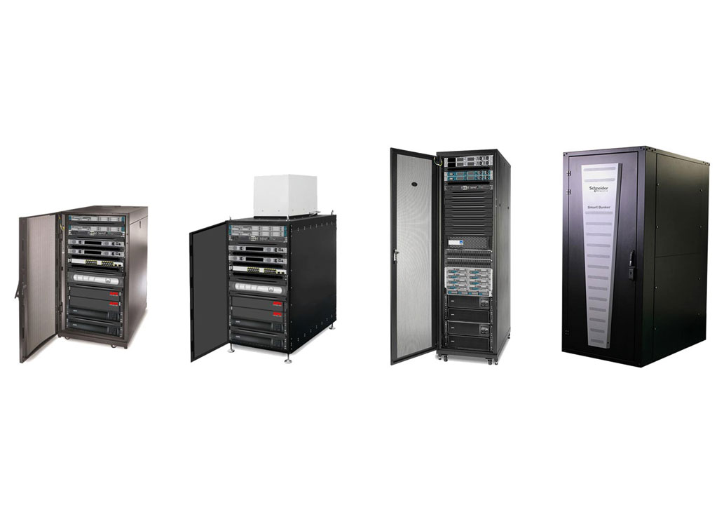 Mikroinfrastruktura IT od APC by Schneider Electric