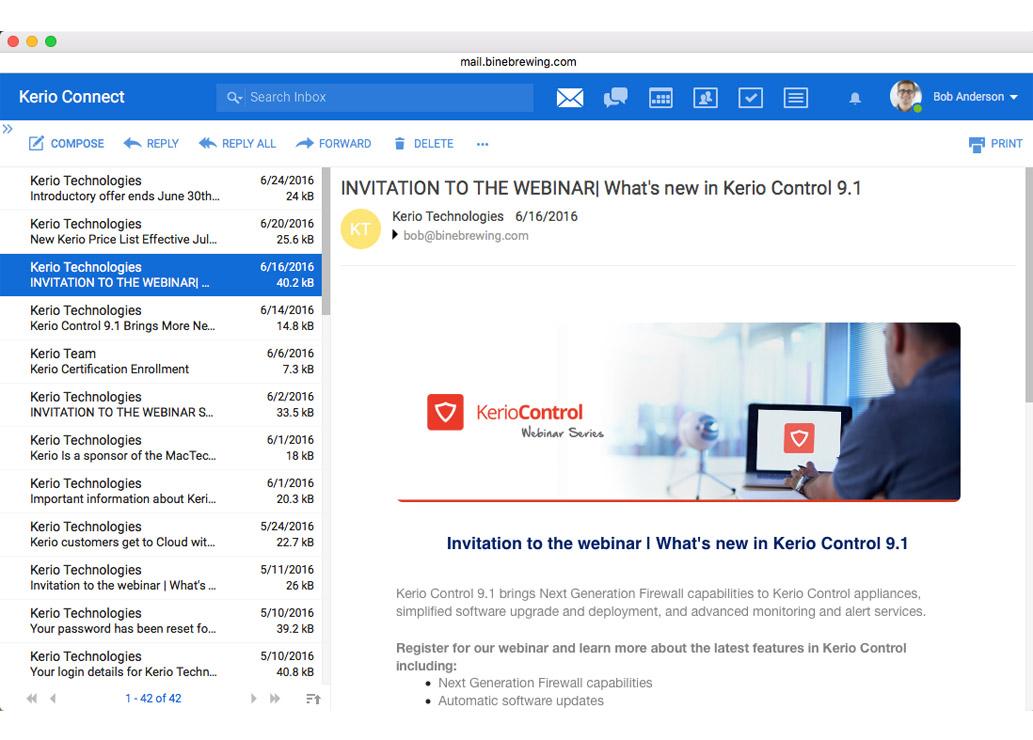 Kerio i MailStore – para doskonała