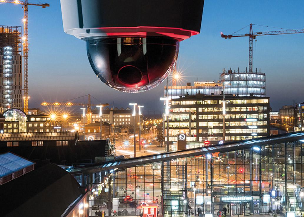 Kamery i czujniki w służbie miastu