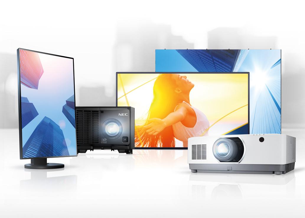 NEC – najszersze portfolio urządzeń do wyświetlania obrazu