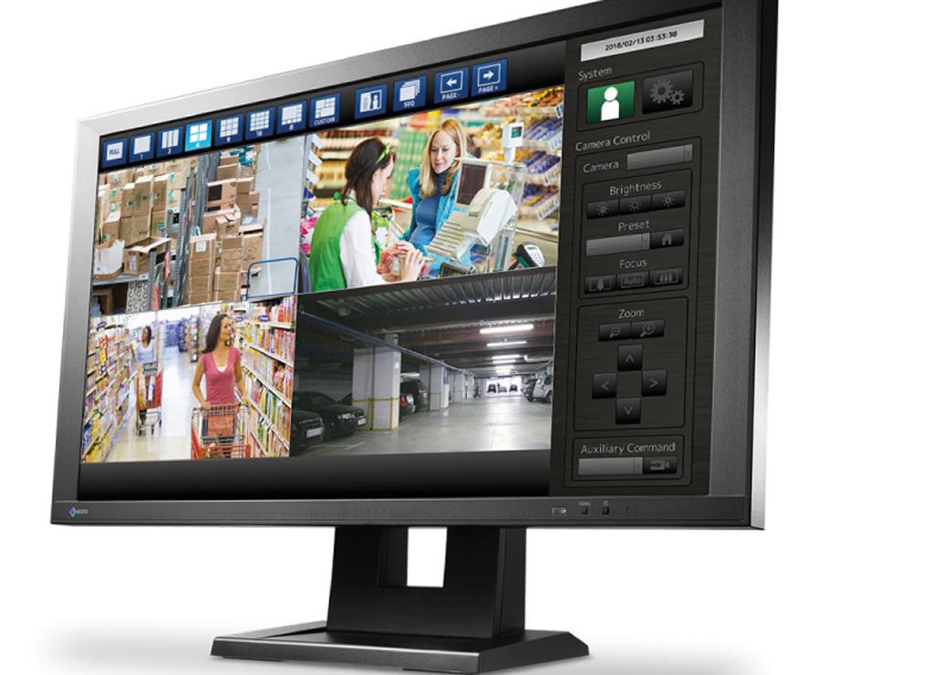 Monitoring bez komputera z EIZO