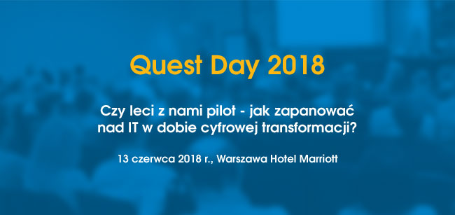 Quest Day 2018: Czy leci z nami pilot?