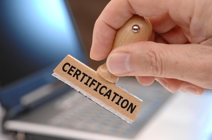 Certyfikaty warte zachodu