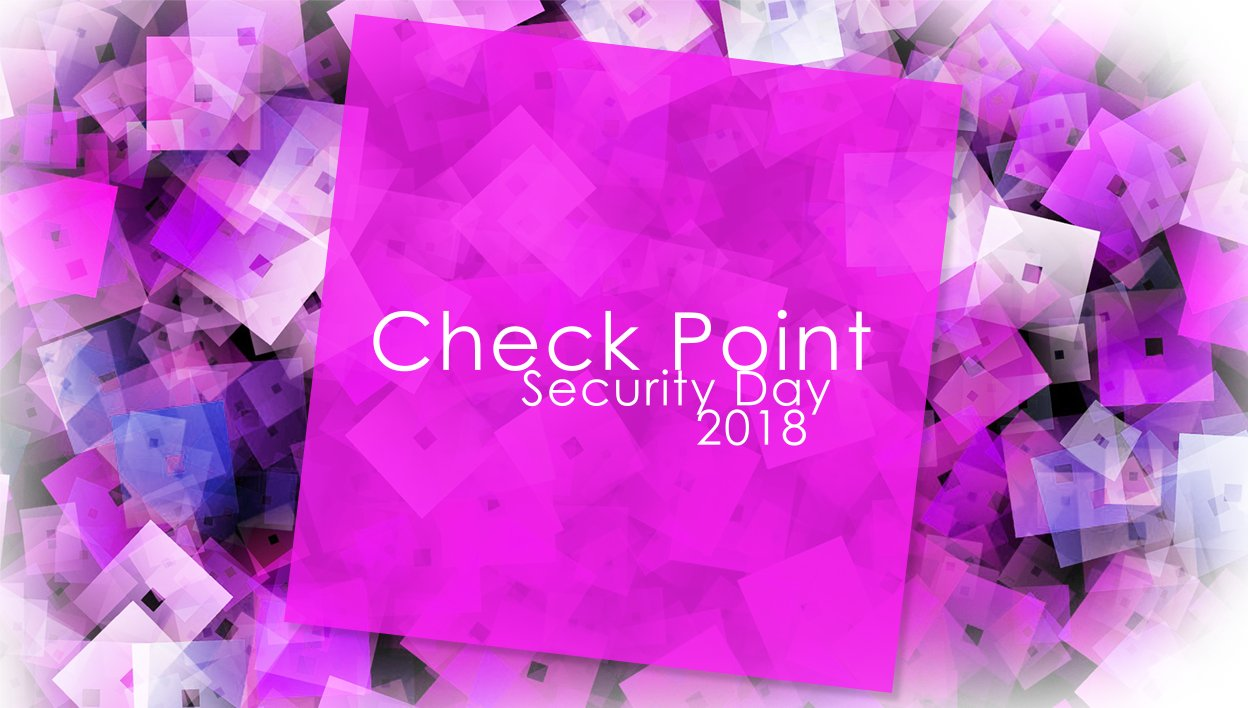 Check Point Security Day 2018