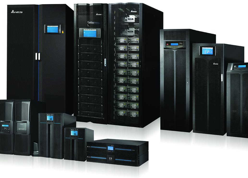 Rozwiązania Delta dla serwerowni i małych centrów danych